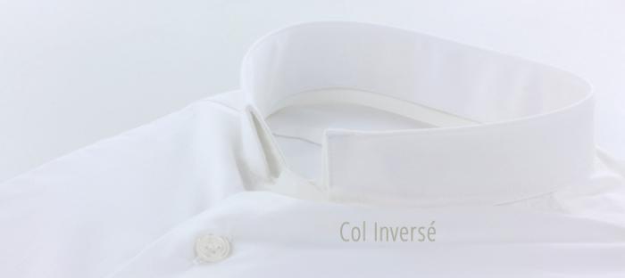 design intemporel 10844 547a6 Col de chemise officier, col mao ou col inversé ?
