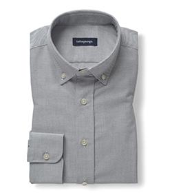 Oxford liso gris claro