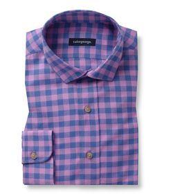 Checked purple Flannel
