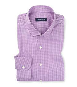 Sarga de cuadros violeta