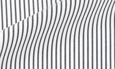 Striped black Poplin