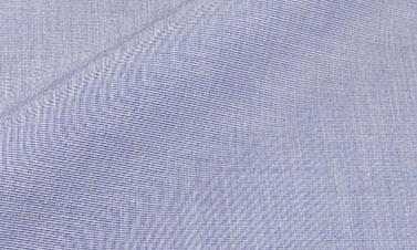 Effen grijsblauw Popeline