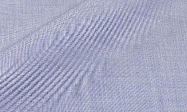 Einfarbige Schieferblau Popeline