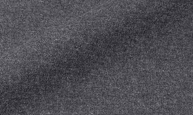 Plain anthracite gray Flannel