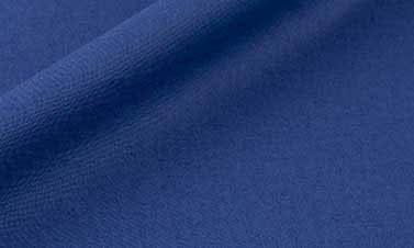 Popeline uni bleu cobalt