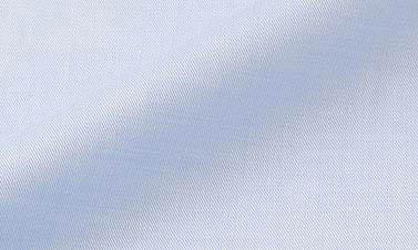 Effen hemelsblauw Twill