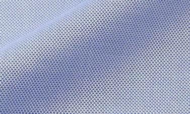 Plain electric blue Oxford