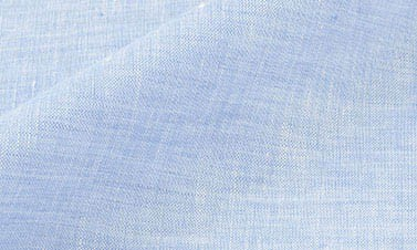 Plain cloud blue Linen