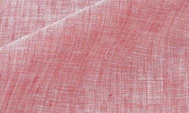 Lino liso rojo