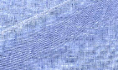 Lino liso azul cielo