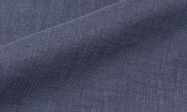 Plain midnight blue Linen