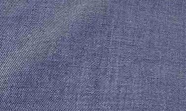 Effen grijsblauw Denim