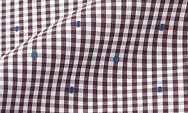 Checked brown Poplin