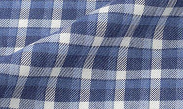 Checked navy blue Flannel
