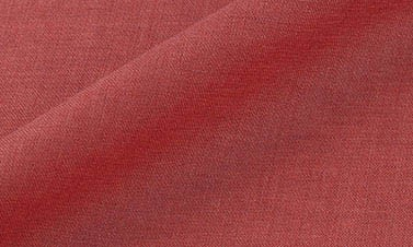 Plain coral red Linen