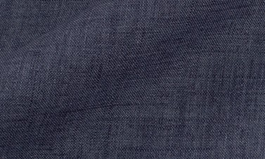 Plain denim blue Linen
