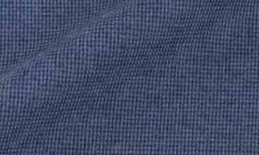 Effen blauw Flanel