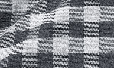 Checked Gray Flannel