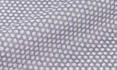 Print brown Linen
