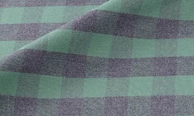 Plaid forest green Flannel