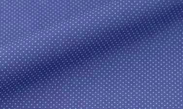 Print lapis lazuli blue Poplin