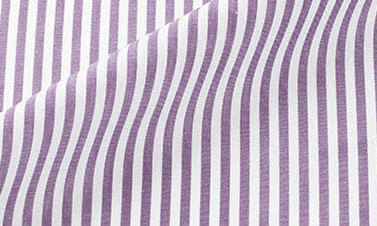Striped purple Poplin