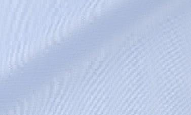 Einfarbige Himmelblau Twill  - Bügelfrei