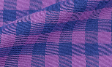 Checked purple Flannel