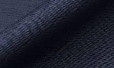 Plain navy blue Cotton linen