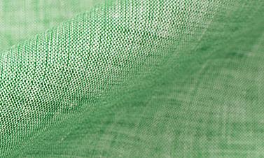Effen groen Linnen