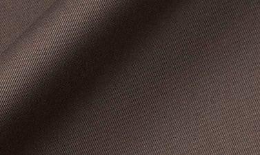 Gabardine uni marron
