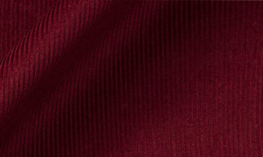 Plain bordeaux Corduroy