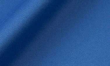 Einfarbige Blau Gabardine
