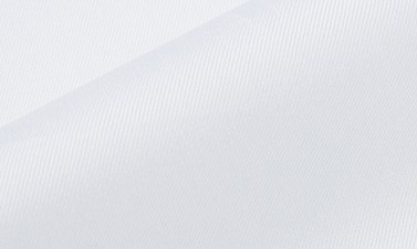 Twill uni blanc - Repassage facile